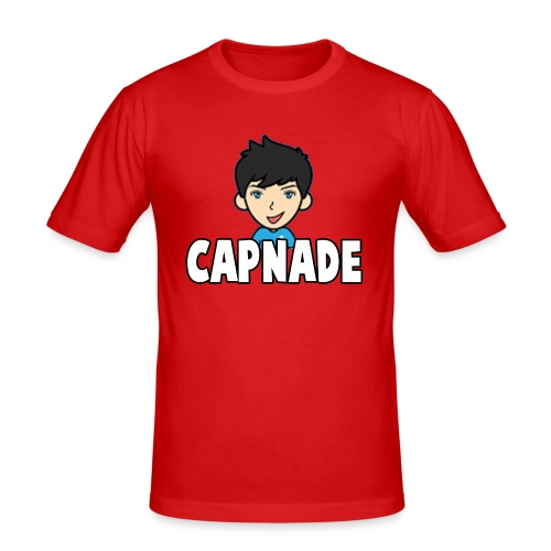 Basic Capnade's Products - Men's Slim Fit T-Shirt