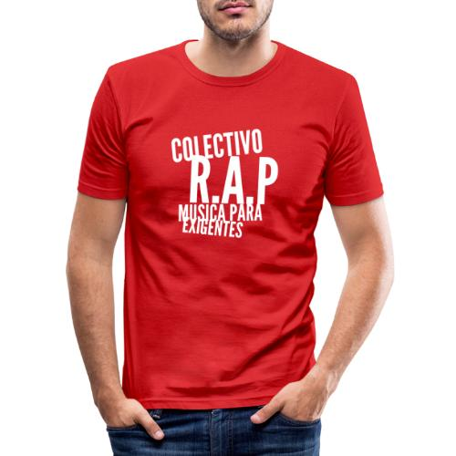 SOLO PARA AMANTES DEL RAP// Colectivo R.A.P - Camiseta ajustada hombre