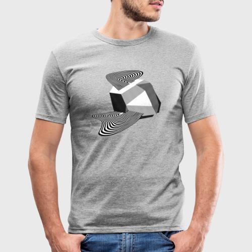 Sharp Curves - T-shirt près du corps Homme