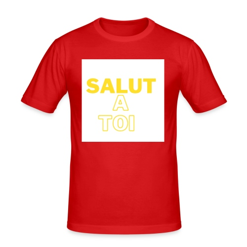 salut - T-shirt près du corps Homme