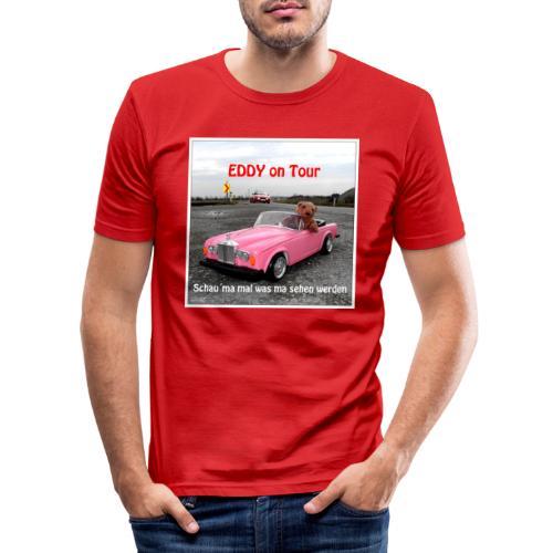 EDDY on TOUR 1 - Männer Slim Fit T-Shirt