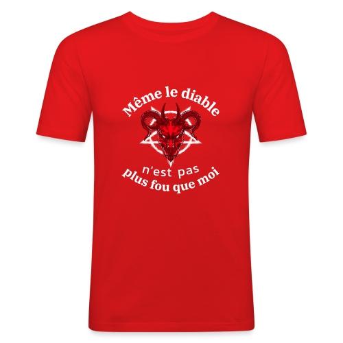 diable 666 - T-shirt près du corps Homme