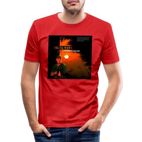 Delta Wave 82 - Jungle Warfare - Miesten tyköistuva t-paita