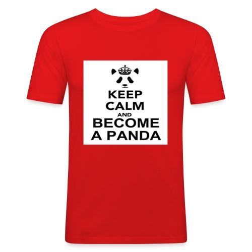 Vær En Panda - Herre Slim Fit T-Shirt