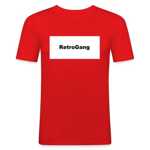 T-shirt retro gang - Mannen slim fit T-shirt