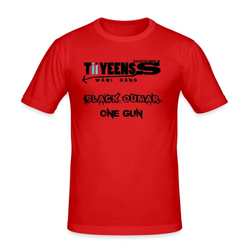 TiiYeens - T-shirt près du corps Homme