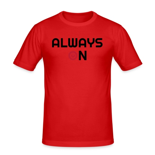 Always On - Mannen slim fit T-shirt