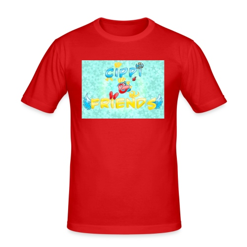 Tazza Cippi & Friends - Maglietta aderente da uomo