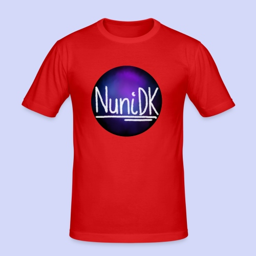 Galaxy shade, NuniDK collection - female top - Herre Slim Fit T-Shirt