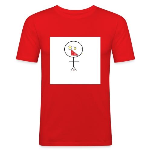 strekmann - Slim Fit T-skjorte for menn