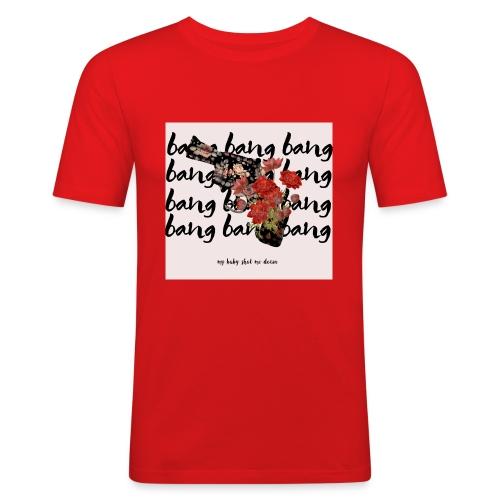 bamg_bang-jpg - Camiseta ajustada hombre