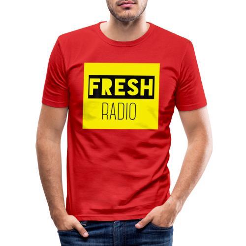 FreshRadio LOGO - Men's Slim Fit T-Shirt
