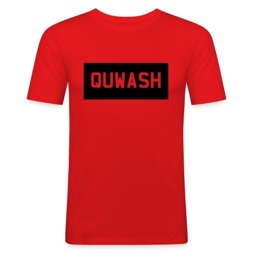 QUWASH - Mannen slim fit T-shirt