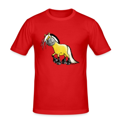 fjord_horse - Men's Slim Fit T-Shirt