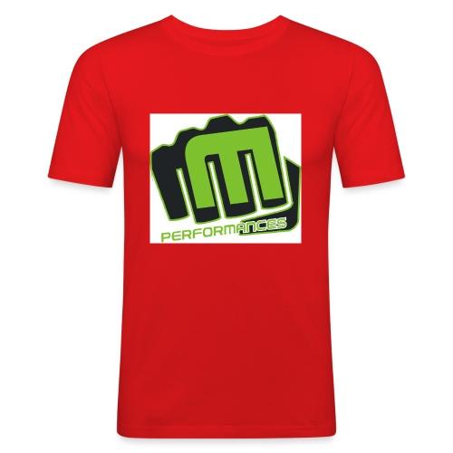 m_performances_jpg - Maglietta aderente da uomo
