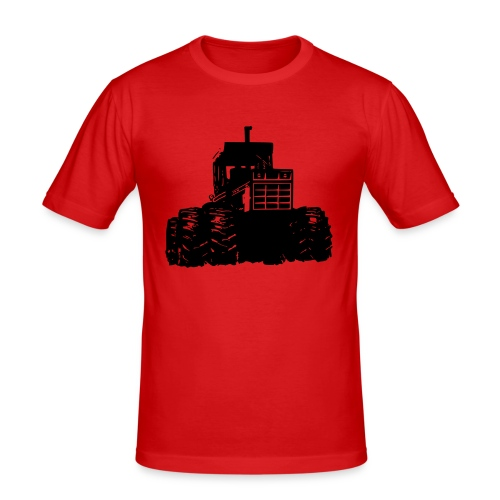 IH 4WD Tractor - Men's Slim Fit T-Shirt