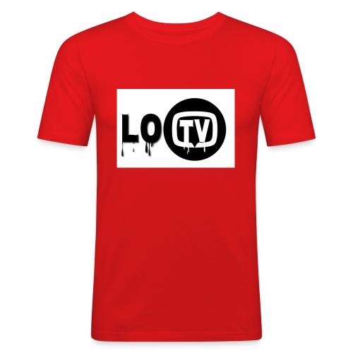 Lo_TV_ - Mannen slim fit T-shirt