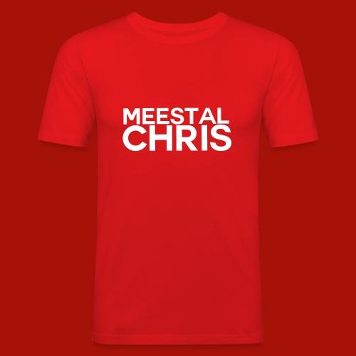 MeestalChris Logo shirt - slim fit T-shirt