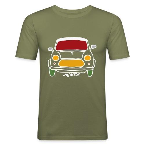 Voiture ancienne anglaise - T-shirt près du corps Homme