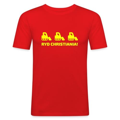 Ryd Christiania - Herre Slim Fit T-Shirt