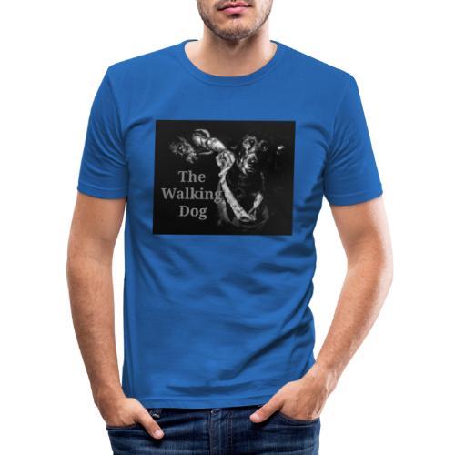 The Walking Dog - Männer Slim Fit T-Shirt