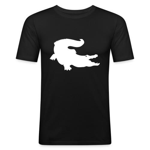 Metal Gear Online - Crocodile Rank - Maglietta aderente da uomo
