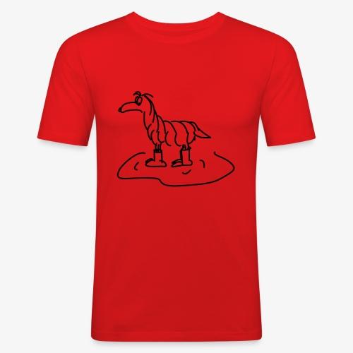 Regenhund - Männer Slim Fit T-Shirt