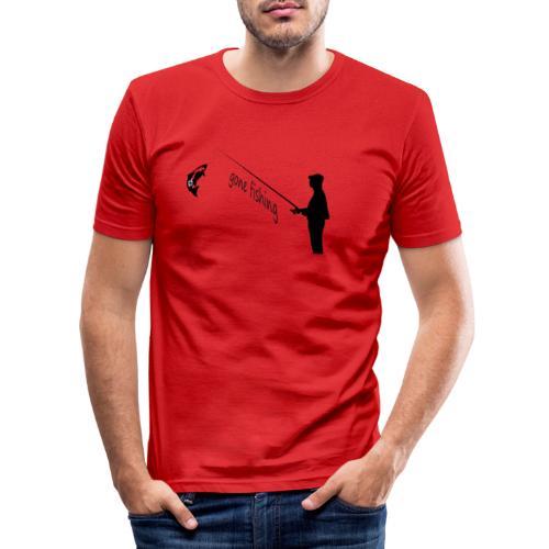 Angler - Männer Slim Fit T-Shirt