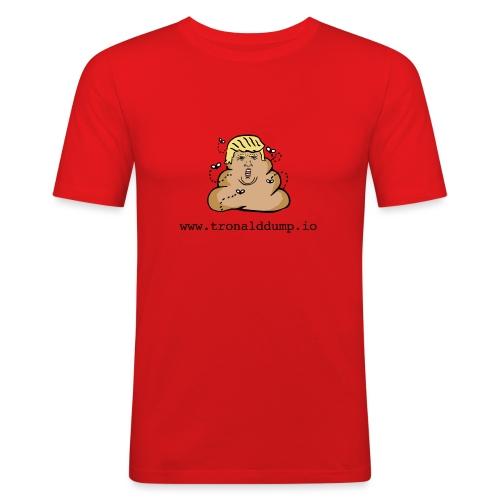 Tronald Dump - Men's Slim Fit T-Shirt