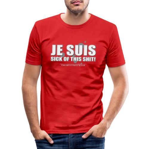Je suis sick - Männer Slim Fit T-Shirt
