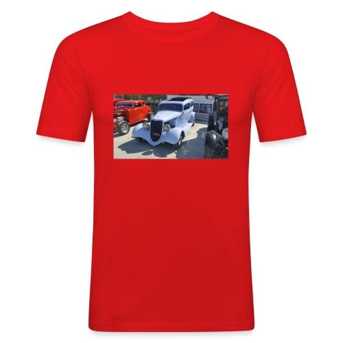 Turkos bil i Norrtälje - Slim Fit T-shirt herr