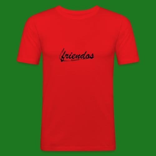 Mannen baseball t-shirt Friendos - Mannen slim fit T-shirt