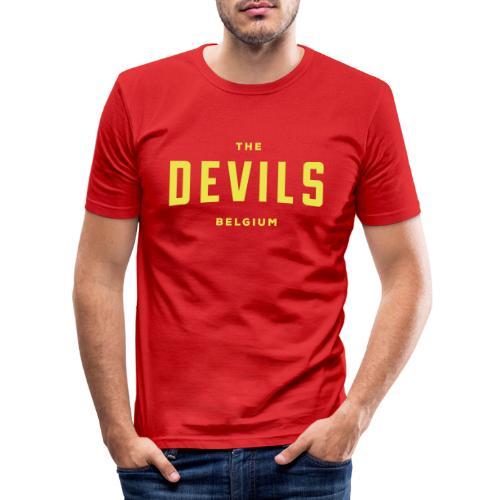 les diables belgique Belgique - T-shirt près du corps Homme