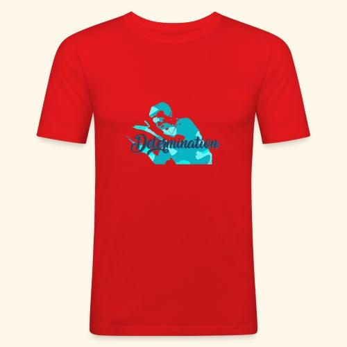 Determination to win the Championship - Männer Slim Fit T-Shirt