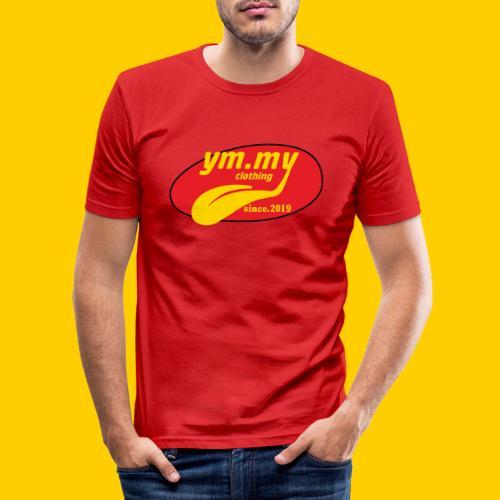 YM.MY clothing LOGO - Men's Slim Fit T-Shirt
