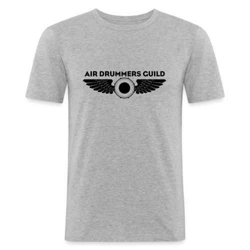 ADG Drum'n'Wings Emblem - Men's Slim Fit T-Shirt