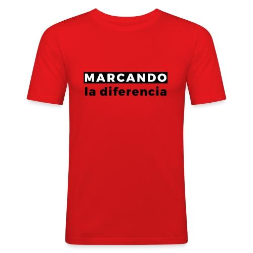 Marcando - Camiseta ajustada hombre