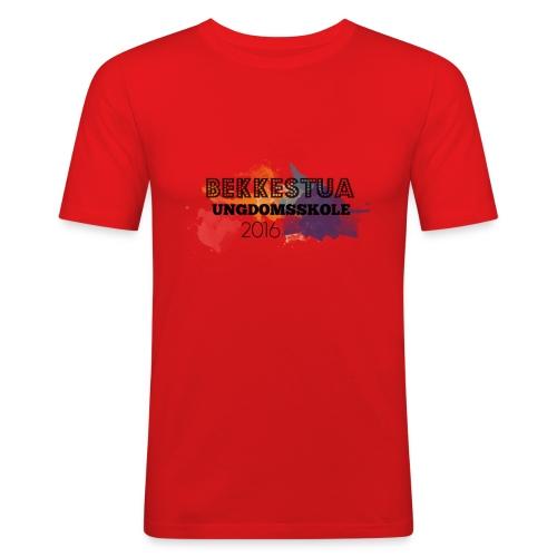 Skolegenser - Slim Fit T-skjorte for menn