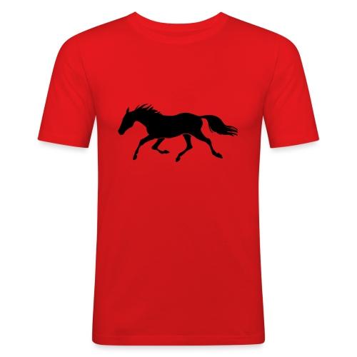 Cavallo - Maglietta aderente da uomo