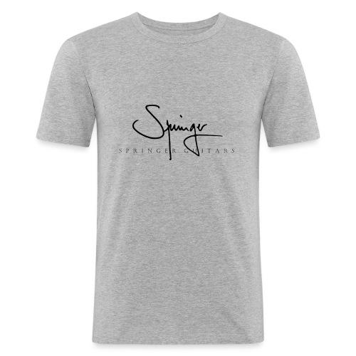Logo Springer Guitars - T-shirt près du corps Homme