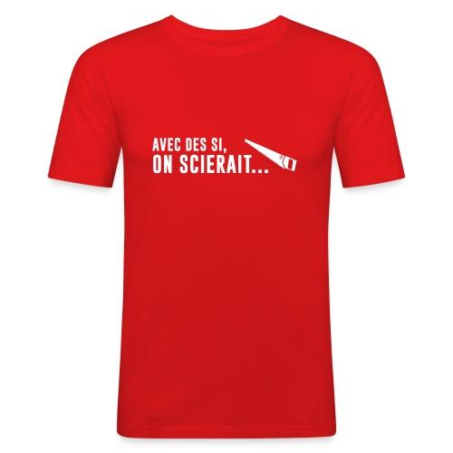 Scieraitblanche - T-shirt près du corps Homme