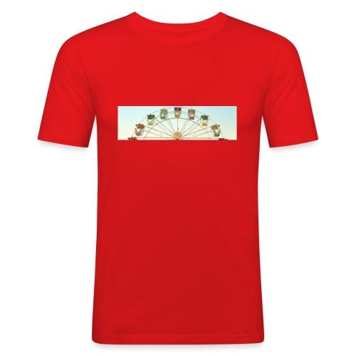 header_image_cream - Men's Slim Fit T-Shirt