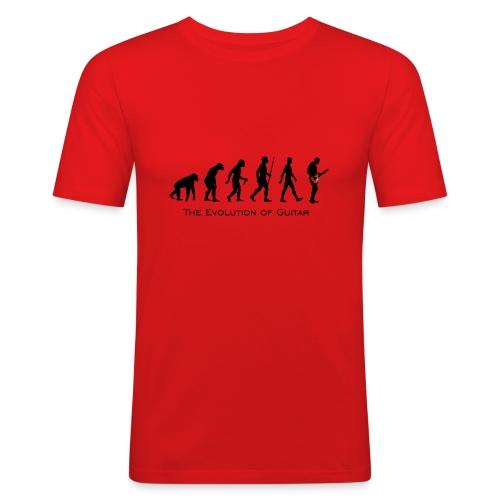 The Evolution Of Guitar - Camiseta ajustada hombre