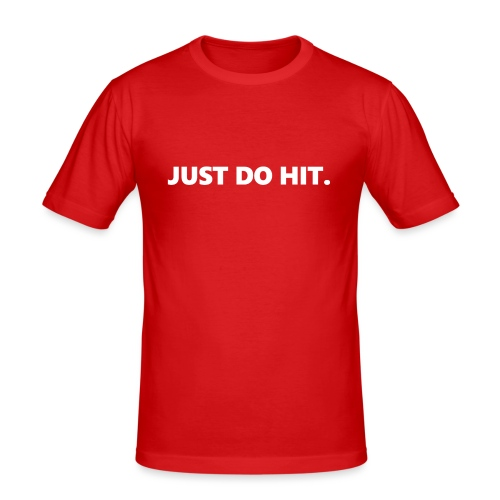 JUST DO HIT. - Maglietta aderente da uomo