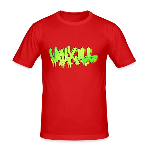 Graffiti | GREEN - Men's Slim Fit T-Shirt
