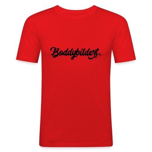 Boddybildert - Mannen slim fit T-shirt