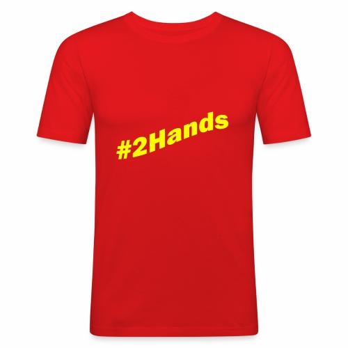 2Hands - Men's Slim Fit T-Shirt