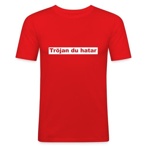 tröjan du hatar - Slim Fit T-shirt herr