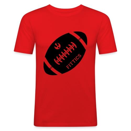 Fittics American Football - Men's Slim Fit T-Shirt