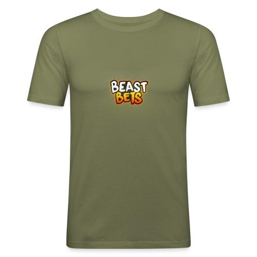 BeastBets - Herre Slim Fit T-Shirt
